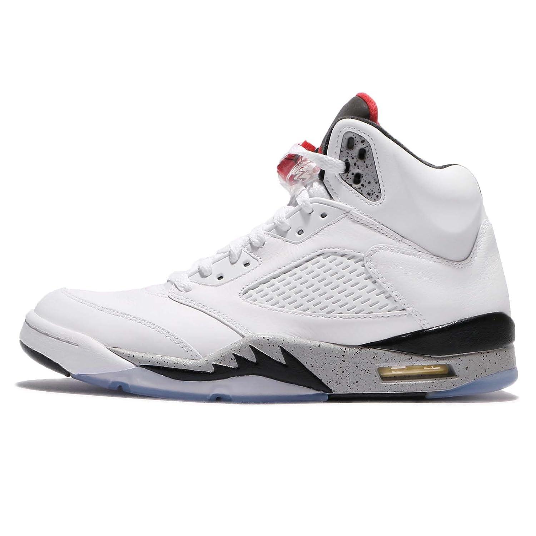 Amazon | (ジョーダン) エアジョーダン 5 レトロ メンズ バスケットボール シューズ Air Jordan 5 Retro  136027-104 [並行輸入品] | バスケットボール