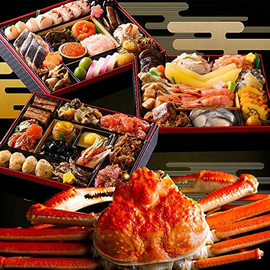 十ボイラー群れ[10,000ポイント還元対象] 北海道 高級 海鮮 おせち お節 蟹付き