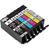 【Amazon限定ブランド】レイワインク キヤノン(CANON) BCI-371+370/6MP 対応 6色セット リサイクルインク 日本製JIT-NC3703716P