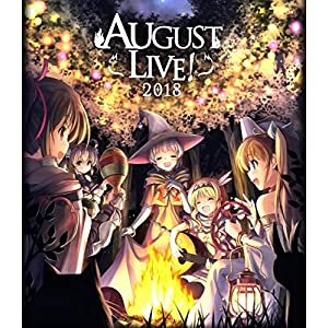 AUGUST LIVE! 2018 Blu-ray& DLCard