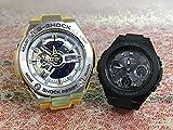 カシオCASIO 腕時計 G-SHOCK&BABY-G ペアウォッチ 純正ペアケース入り ジーショック&ベビージー 2本セット GST-410-9AJF MSG-W100G-1AJF