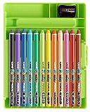 三菱鉛筆 色鉛筆 ポンキーペンシル 12色 K800PK12CLT 画像