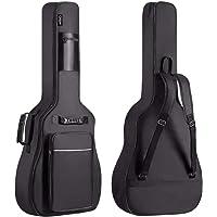 CAHAYA 【12mmスポンジ】ギターケース 軽量 ギグバッグ アコースティックギター ソフト ケース フォークギター…