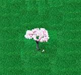桜 さくら 樹木 木 鉄道 模型 建築 模型用 ジオラマ / 4cm 10本 セット