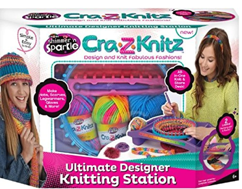 Cra-Z-Art Cra-Z-Knitz Knitting Station [並行輸入品]