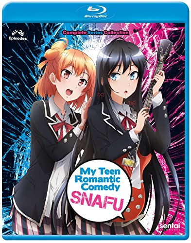 My Teen Romantic Comedy SNAFU Complete Collection Blu-Ray(やはり俺の青春ラブコメはまちがっている。 第1+2期 全26話)