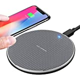 TIANYI Wireless charger,10W phone Wireless Charging Pad 2021 Upgraded version ,Compatible with iphone 11/11 Pro/11 Pro Max/XS