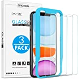 OMOTON Tempered Glass Screen Protector Compatible with Apple iPhone 11 / iPhone XR, 6.1 inch [3 Pack]