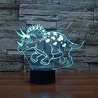 biutefang Night Light恐竜8ビジョンライトLEDアクリルビジョンライトクリエイティブデスクトップライト 6999996328233