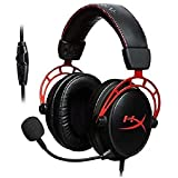 HyperX Cloud Alpha – Gaming Headset, Dual Chamber Drivers, Award Winning Comfort, Durable Aluminum Frame, Detachable Micropho