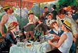 300ピース ジグソーパズル 舟遊びをする人々の昼食(26x38cm)
