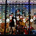 ウォールステッカー クリスマス雪だまる 飾り 可愛い雰囲気変わえる (A)