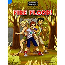 Discovering Geography (Upper Primary Comic Topic Book): Fire Flood! (Reading Level 29/F&P Level T)