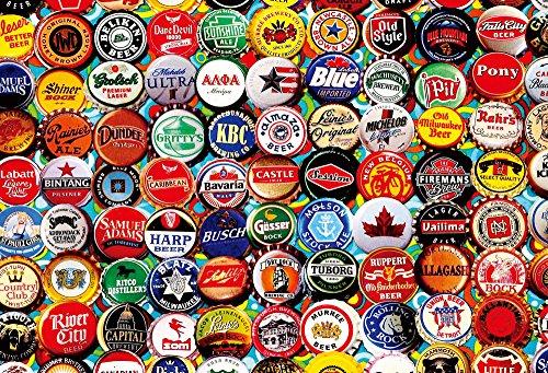 アートコレクション 1000ピース ヴィンテージアート ビールキャップ 31-437