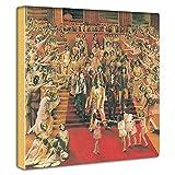 アートデリ ポスター パネル Rolling Stones 30cm × 30cm ローリング ストーンズ 日本製 軽量 ファブリック unv-0021
