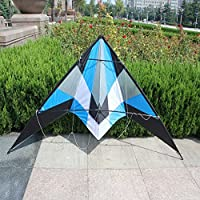 ブルーKite Flying自体を簡単ハンドルworking-classoutdoor楽しいスポーツ、なFlying、素晴らしいサウンドフル合理化されたデザイン