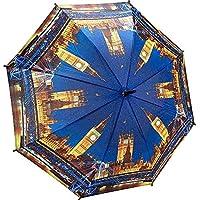 (ガレリア) Galleria ユニセックス 傘 London at Night Stick Umbrella [並行輸入品]