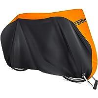Favoto 自転車カバー サイクルカバー 厚手 防水 防風 紫外線防止 盗難防止 収納袋つき 29インチまで対応