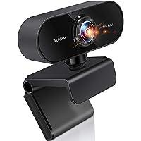 webカメラ ウェブカメ フルHD 30FPS 1080P マイク内蔵 広角 高画質 自動光補正 ビデオ通話 会議 ネッ…