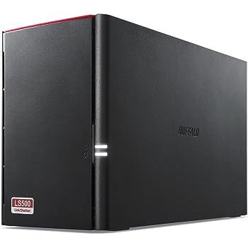 BUFFALO スマホ・タブレットで使える ネットワークHDD(NAS) デュアルコアCPU 高速モデル データを守るRAID1搭載 2TB LS520D0202