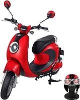 【Amazon.co.jp限定】 電動バイク XEAM notte V2 ピュアレッド【限定特典】 専用ヘルメット ピュアレッド XM-AZNPRDHGPRD