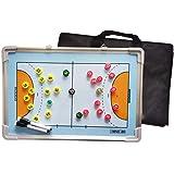 両面ハンドボール磁気戦術トレーニングボード、アルミ合金素材、書き換え可能なコーチトレーニングボード