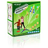 STEM with Fun, Step Powered Stomp Rockets- Stunt Planes and Launcher with 4 Amazing Planes, Birthday Gifts for Boys & Girls-A