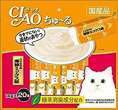 CIAOちゅーる チャオ (CIAO) ちゅ~る とりささみ 海鮮ミックス味 14g 20本