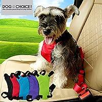 【シートベルト】小型犬用シートベルト!太めのベルトでしっかり固定 L,ブラック