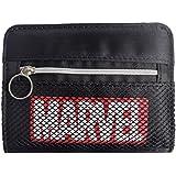 【MARVEL/?????】メッシュファスナー付き二つ折り財布(RD)49943