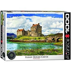 Eurographics Eilean Donan castle-scotland 1000-pieceジグソーパズル( 1000ピース)