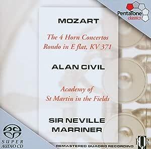Mozart,Wolfgang Amadeus Mozart: 4 Hornkonzerte KV 371