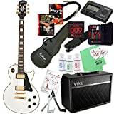 Epiphone エピフォン エレキギター Les Paul Custom Pro 【レスポール・カスタム&VOXアンプ20点入門セット】 (Alpine White/PF10SB)