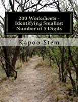 Identifying Smallest Number of 5 Digits: Math Practice Workbook (200 Days Math Smallest Numbers)