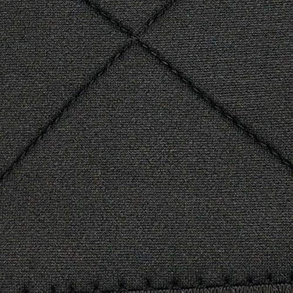 報復するくしゃみクリエイティブネオプレン姿勢矯正ショルダーバックサポート姿勢弯症バンド整形バックコルセットブレース(黒)