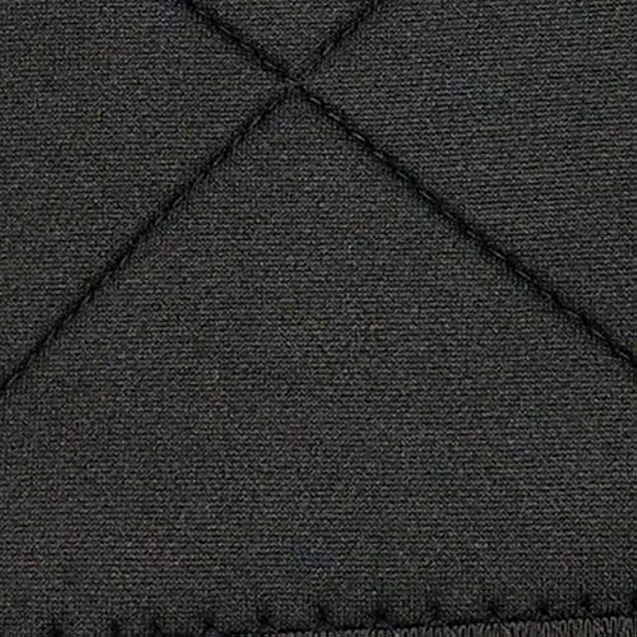 美徳急流淡いネオプレン姿勢矯正ショルダーバックサポート姿勢弯症バンド整形バックコルセットブレース(黒)