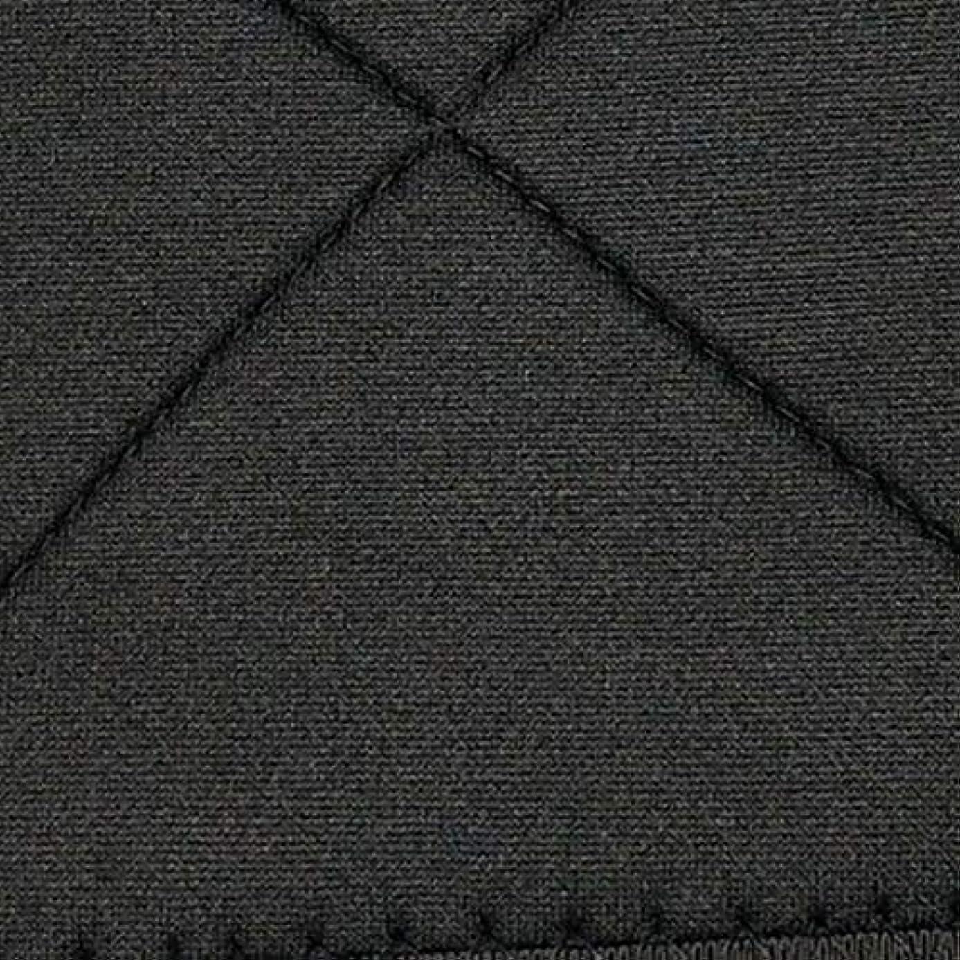 写真を撮る第四皮肉なネオプレン姿勢矯正ショルダーバックサポート姿勢弯症バンド整形バックコルセットブレース(黒)