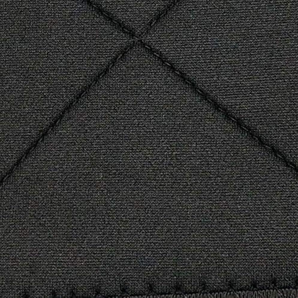 チームオフェンス暗記するネオプレン姿勢矯正ショルダーバックサポート姿勢弯症バンド整形バックコルセットブレース(黒)