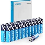Anker Alkaline AA Batteries, Long-Lasting & Leak-Proof with PowerLock Technology, High Capacity Double A Batteries with Adapt
