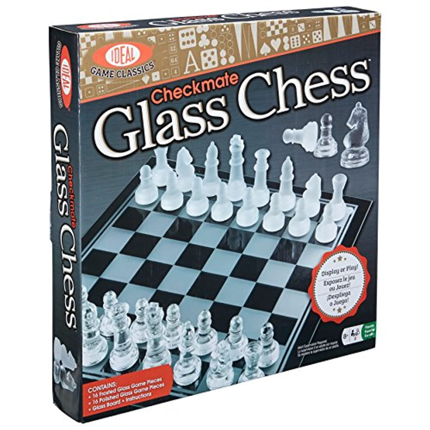 Checkmate Glass Chess