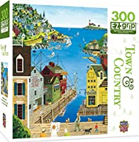 Masterpieces Town & Country EZ Grip A Walk on the Pier Puzzle (300 Piece) by MasterPieces