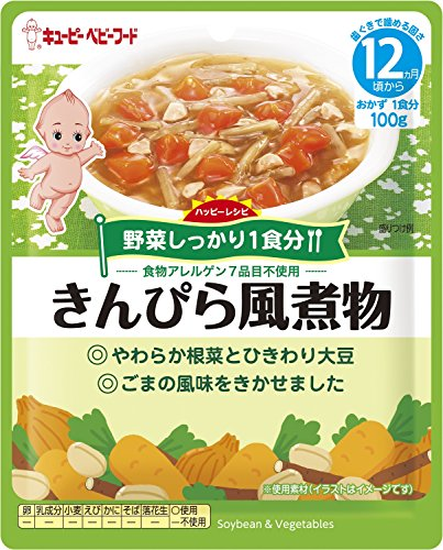ベビーフード VA-2 ハッピーレシピ きんぴら風煮物 12ヶ月頃から (100g)