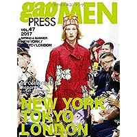 2017 S/S gap PRESS MEN vol.47 NEW YORK/TOKYO/LONDON (gap PRESS collections)