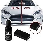 FANCYLEO Car Ceramic Coating Set, 30ML Car Polish Anti-Scratch Painting Repair Transer Super Hydrophobic Auto Detailing...
