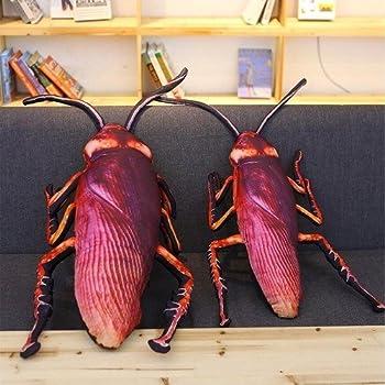 Amazon Jgn ゴキブリ 抱き枕 クッション ぬいぐるみ リアル いたずら