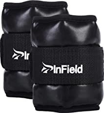 (InField) アンクルウェイト リスト 【改良版】 0.5kg 1kg 1.5kg 2kg 3kg 筋トレ ウォーキング ダイエット エクササイズ 体幹トレーニング リストウェイト アンクルウェイト パワーアンクル リストバンド