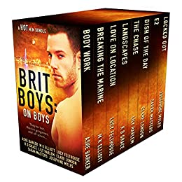 Brit Boys: On Boys: A Gay Romance Boxed Set by [Barker, Ashe, Elliott, M.K., Felthouse, Lucy, Grace, K D, Harlem, Lily, London, Clare, Masters, Sarah, Myles, Josephine]