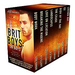 Brit Boys: On Boys by [Barker, Ashe, Elliott, M.K., Felthouse, Lucy, Grace, K D, Harlem, Lily, London, Clare, Masters, Sarah, Myles, Josephine]