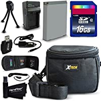 Ideal Accessory Kit for Canon Powershot SX710 IS SX530 HS SX610 HS SX710 HS SX600 HS SX700 HS SX520 HS SX510 HS SX500 IS SX280 HS SX260 HS SX170 IS SD1300 IS SD1200 IS SD980 SD770 SD1300 D30 D20 D10 IXUS 85 IS IXUS 95 IS IXUS 200 IS [並行輸入品]