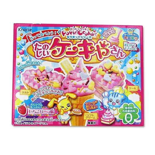 知育菓子 楽しケーキやさん いちごバニラ味 (5個入)